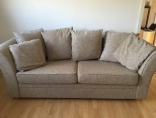 brugt sofa 3 pers. sofa   brugt Møbler brugt sofa
